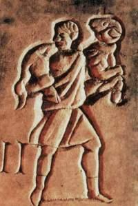 the-good-shepherd in stone